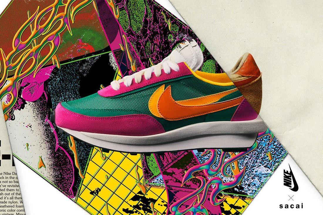 lb borracho una vez  Where to Buy the Next sacai x Nike LD Waffle - Sneaker Freaker