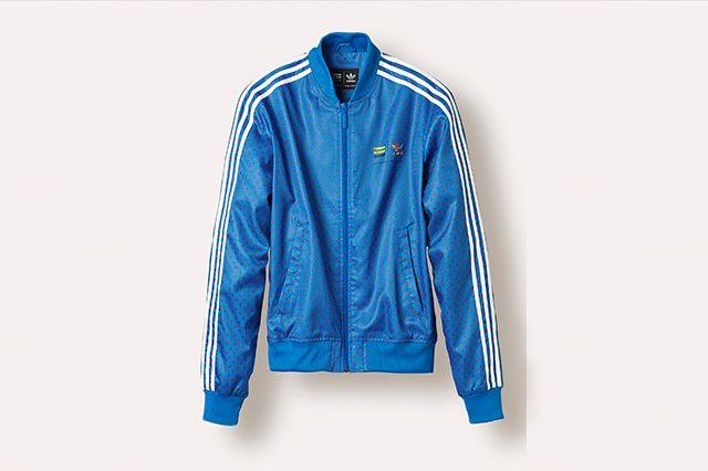 Adidas Pw Superstar Track Jacket Blue Z97398