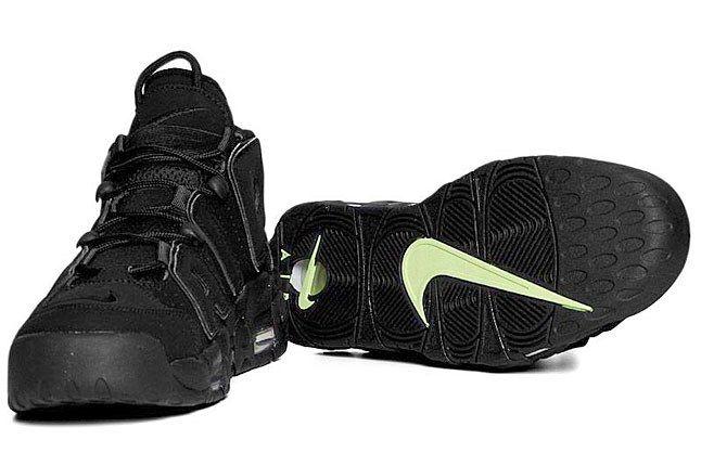 Nike More Uptempo Black 3 1