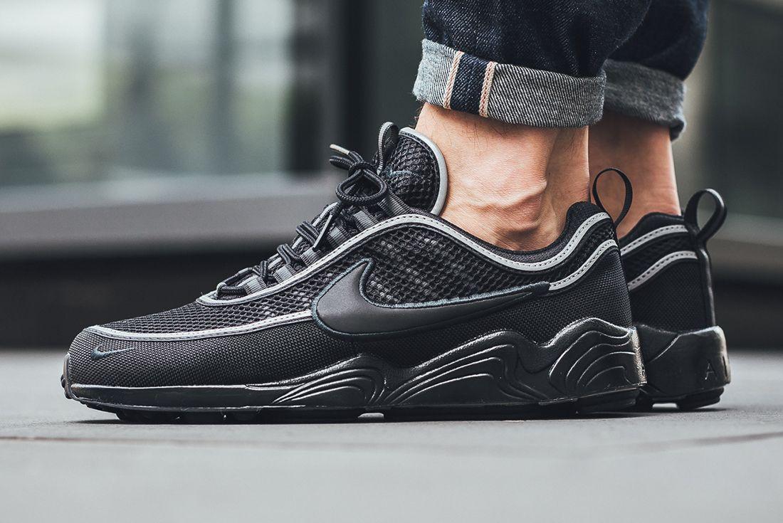 Nike Air Zoom Spiridon 16 Black Anthracite 1