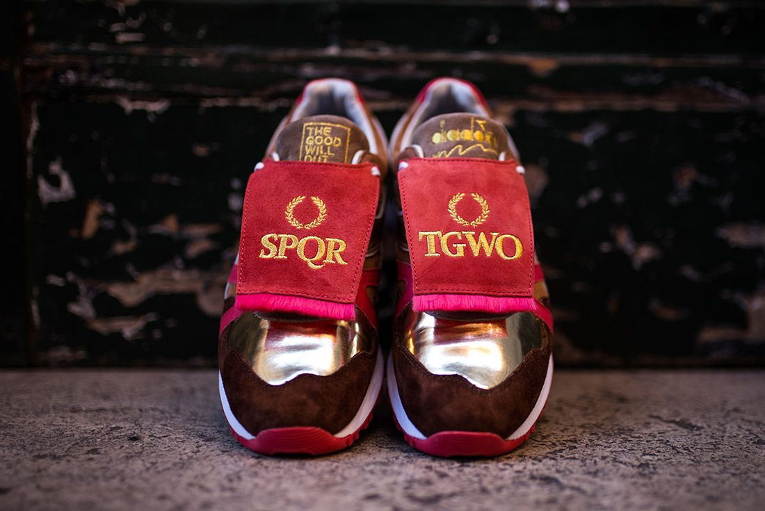 The Good Will Out Diadora N9000 Spqr 1