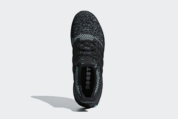 Adidas Ultra Boost Core Black True Green 3