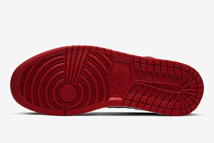 Air Jordan 1 Flyease Gym Red Sole
