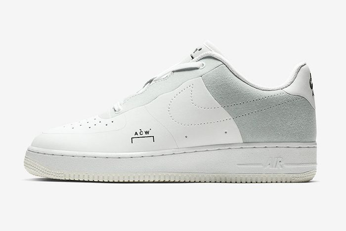 A Cold Wall Nike Air Force 1 Low White 2