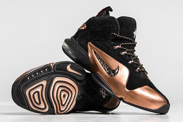 Nike Zoom Penny 6 Premium Black Metallic Copper Thumb