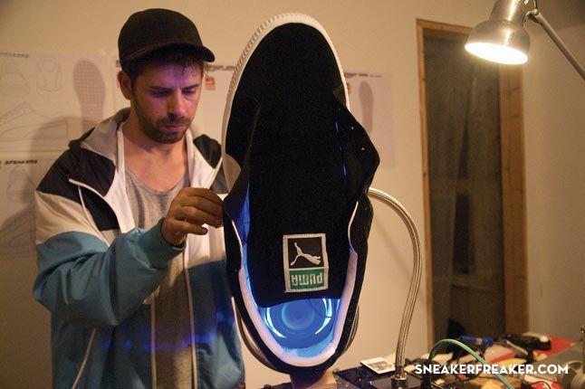 Doom Sneaker Speakers Making Of 21 1