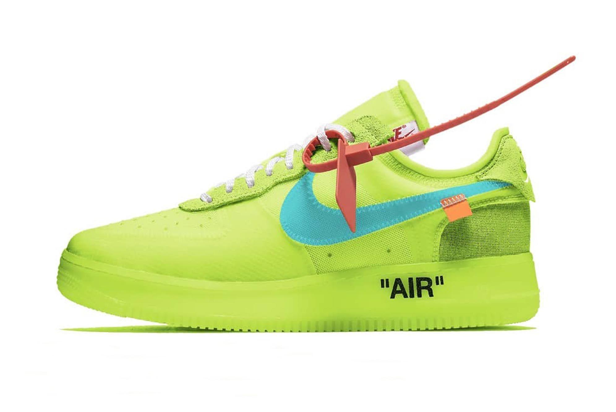 Nike Off White Af1 Volt 1 Sneaker Freaker