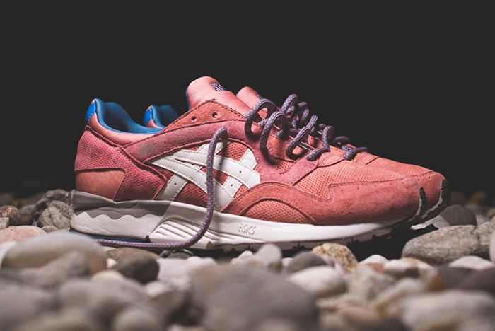 Ronnie Fieg Asics Gel Lyte V Rose Gold
