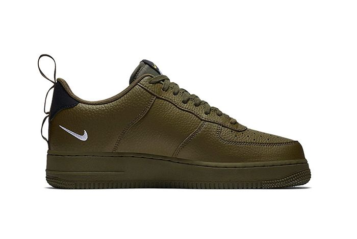 Nike Air Force 1 Low Utility Olive Canvas 2