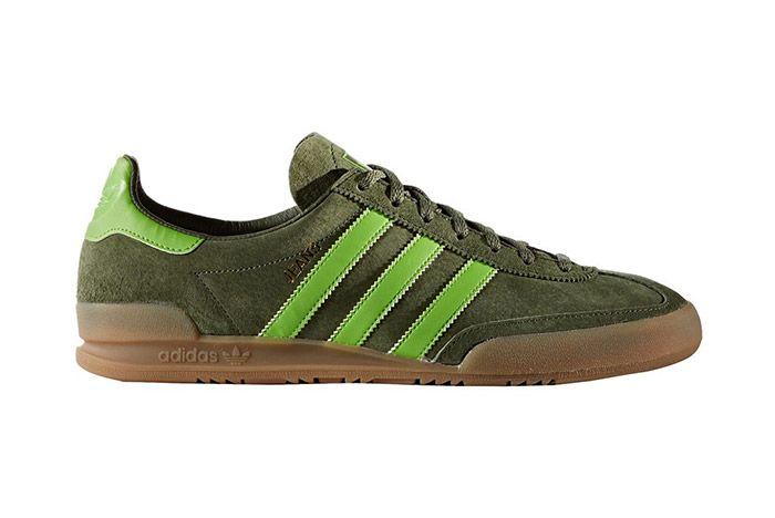 Adidas Jeans Retro Base Green Gum