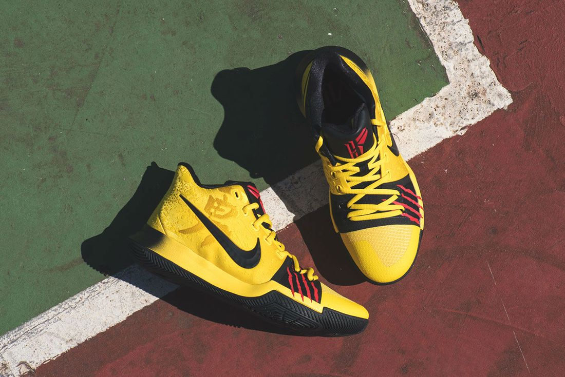 Another Chance To Cop These Bruce Lee Inspired Nike Kyrie 3S