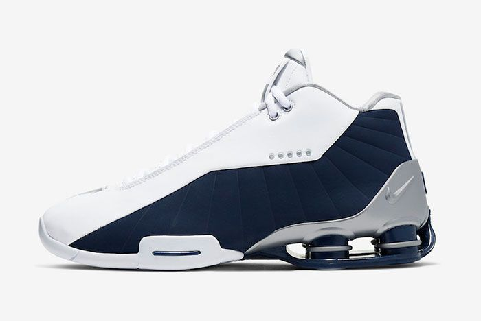 Nike Shox Bb4 Olympic 2019 At7843 100 Release Date Side