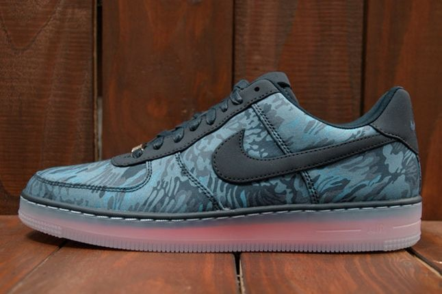 Nike Air Force 1 X Liberty Downtown Blue Profile 1