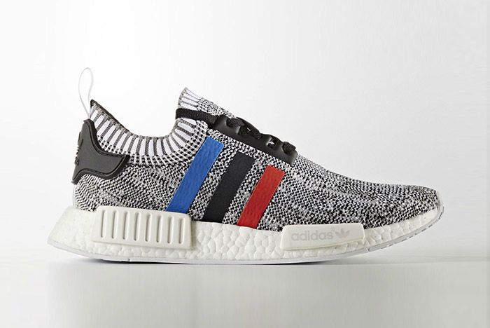 Adidas Nmd Pk Blue Red White Stripes White 7