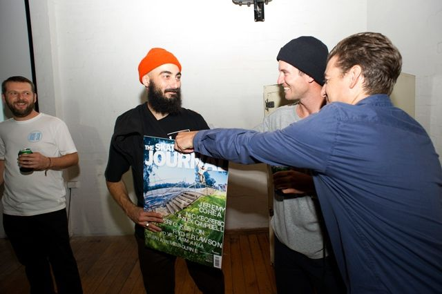 Nick Boserio Receives His Skateboarders Journal Cover