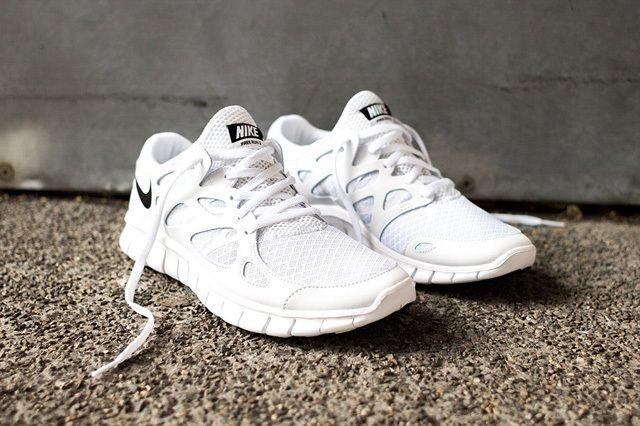 Nike Free Run 2 White Out 5