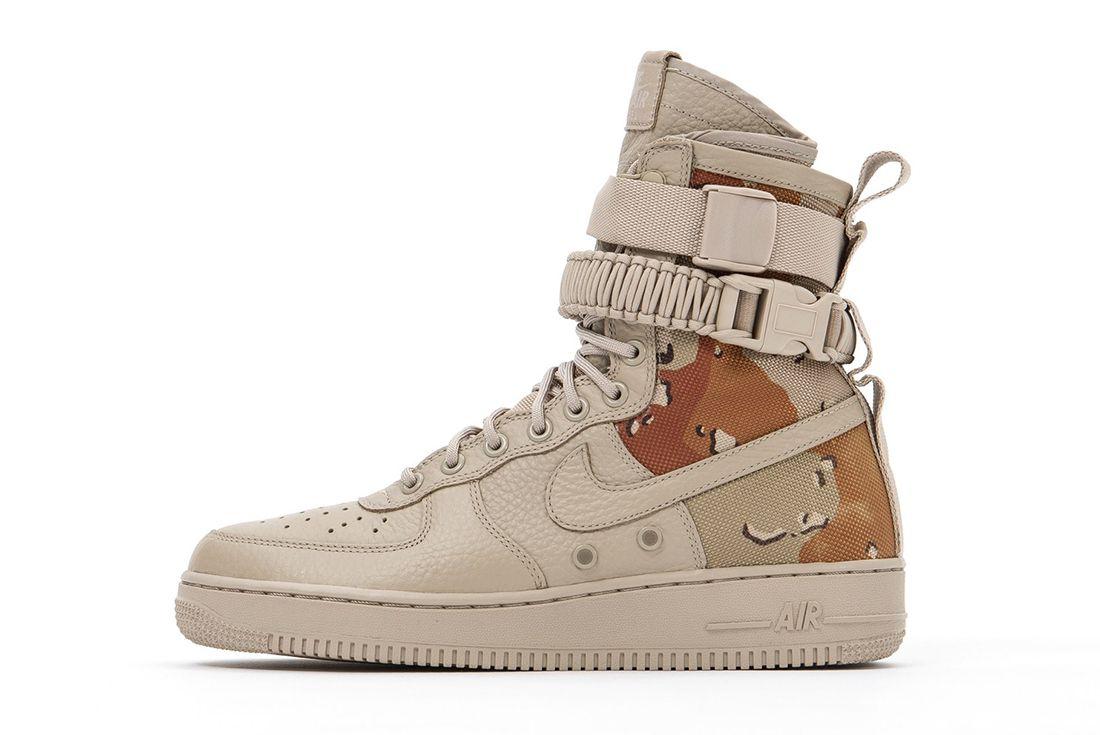 Nike Sf Air Force 1 Desert Camo 1
