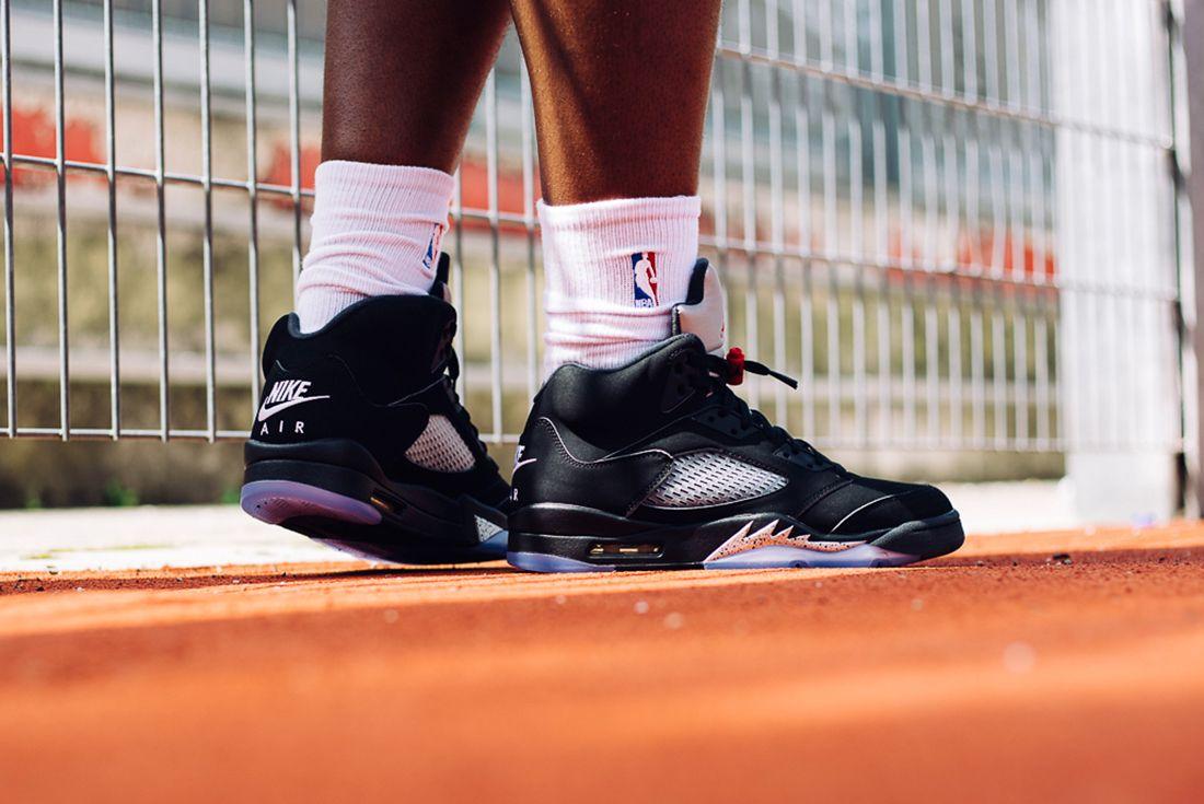 July 15 2016 Air Jordan 5 Retro Blackmetallic 201623
