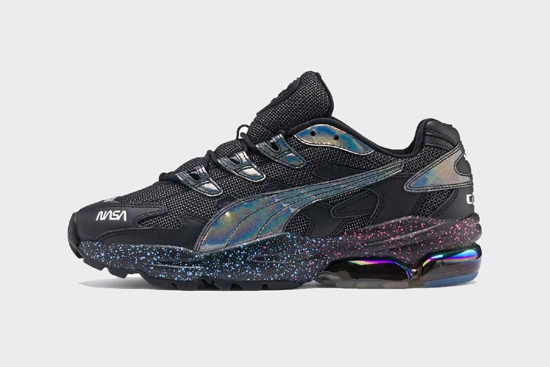 Nasa Puma Space Explorer Pack Cell Black Lateral Side Shot