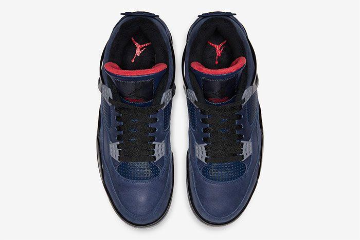 Air Jordan 4 Wntr Winter Loyal Blue Top