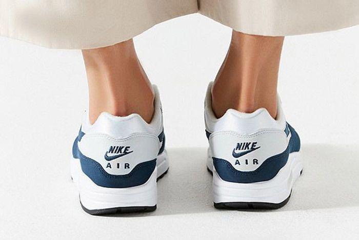 Nike Air Max 1 White Blue 2