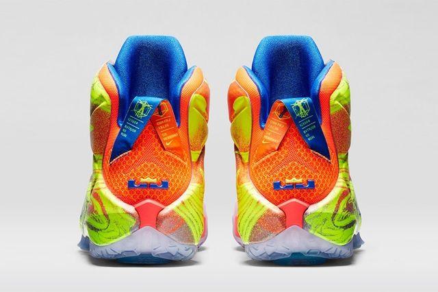 Nike Lebron 12 Six Meridians Bump 2