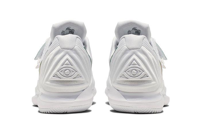 Nike Vapor X Kyrie 5 Wimbledon Release Date Heel
