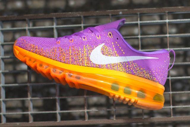Nike Wmns Flyknit Max Atomic Purple Total Orange 4
