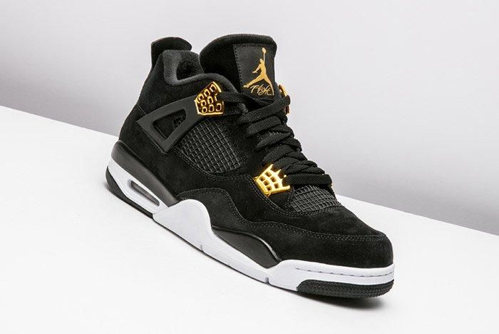 Air Jordan 4 Royalty Black Gold 3