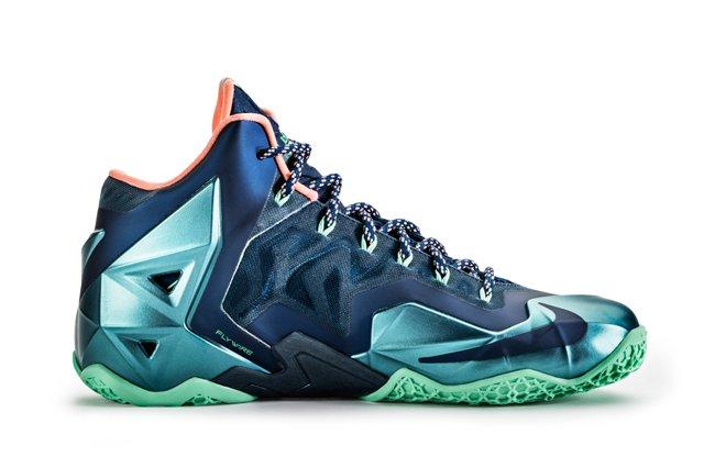 Le Bron 11 Akron Vs Miami 1
