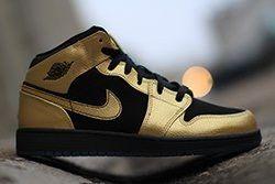 Air Jordan 1 Gs Gold Coin Thumb