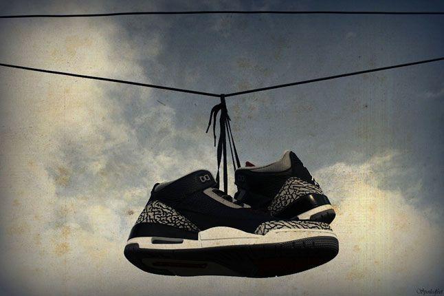 Air Jordan 3 Black Cement 1