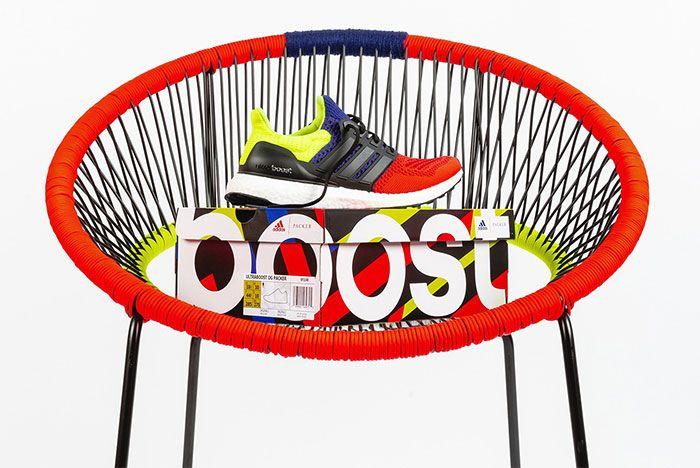 Packer Shoes Adidas Ultraboost Three Quarter Heel Shot