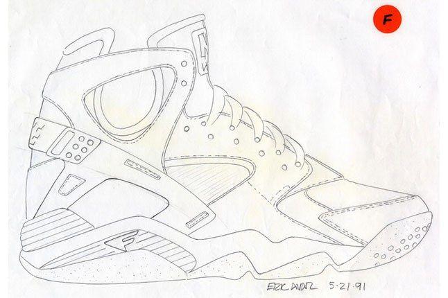 Nike Air Flight Huarache 2 1