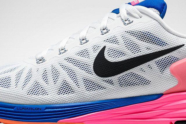 Nike Lunar Glide6 Womens Upper Detail