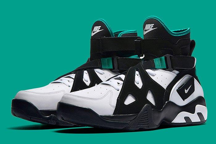 Nike Air Unlimited Retro White Black Emerald 9