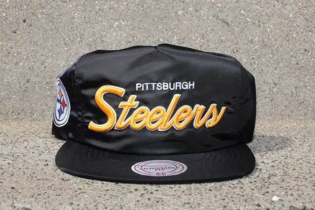 Mitchell Ness Black Satin Nfl Dome Cover Capsule 4
