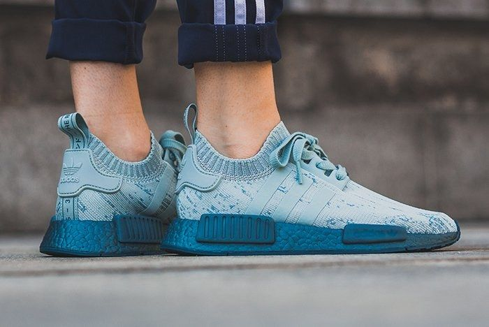 Adidas Nmd R1 Sea Crystal Fefature