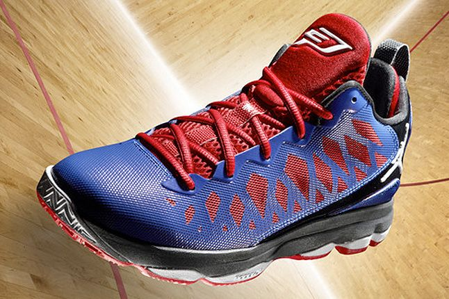 Jordan Cp3 Vi Blue Court Shot 1