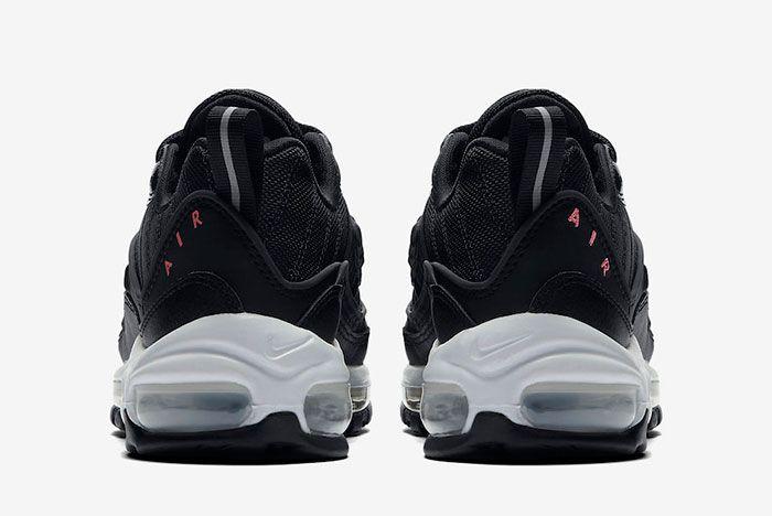 Nike Air Max 98 Black Pink Cn0140 001 Release Date 5 Heel
