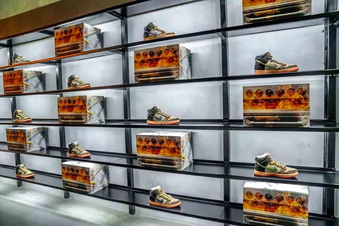 Concepts x Nike SB Dunk High 'TurDUNKen' Dubai Store Fit Out