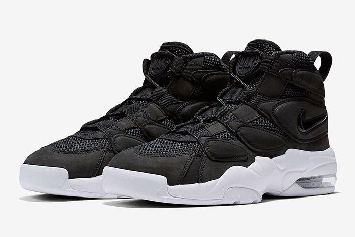 Nike Air Max Uptempo 2 Black White 6