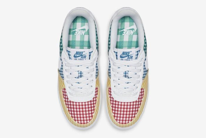 Nike Air Force 1 Gingham Pack Colour Top