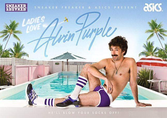 Alvin Purple Asics Sneaker Freaker 9