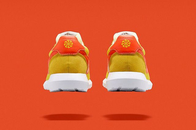 Nike Roshe Ld 1000 Fragment Design Yellow Orange 3
