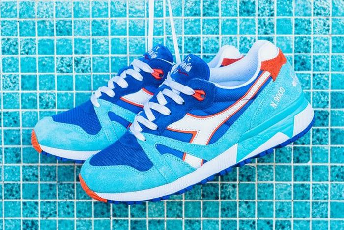 Diadora N9000 Iii Princess Blue 6