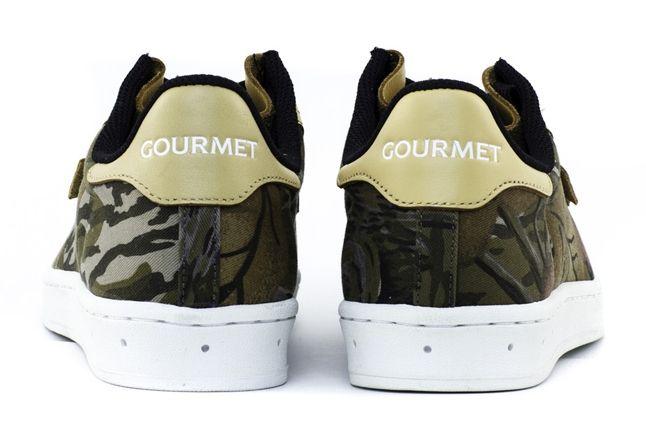 Gourmet Cinque 2 Tx Forest Camo Leather Heel Profile 1