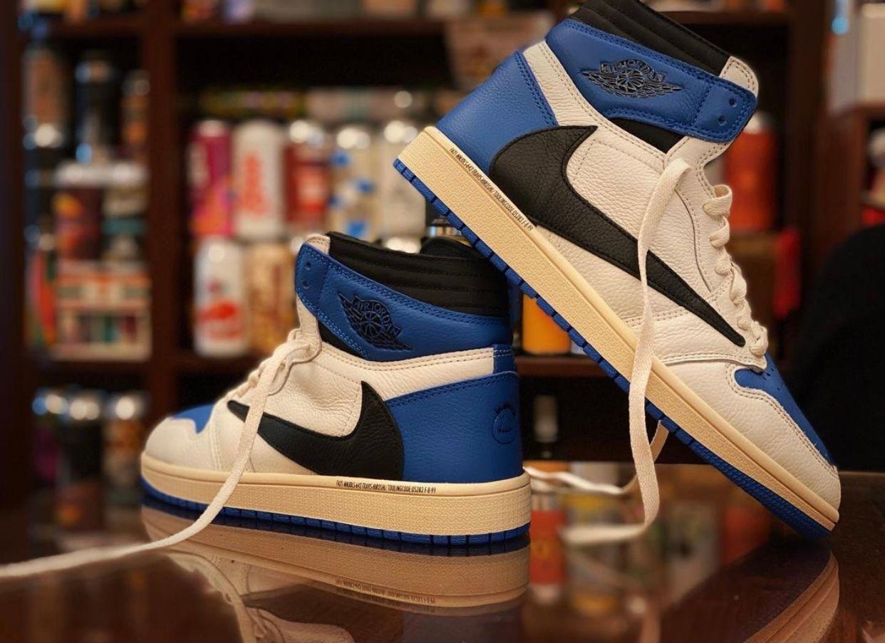 Fragment x Travis Scott x Air Jordan 1