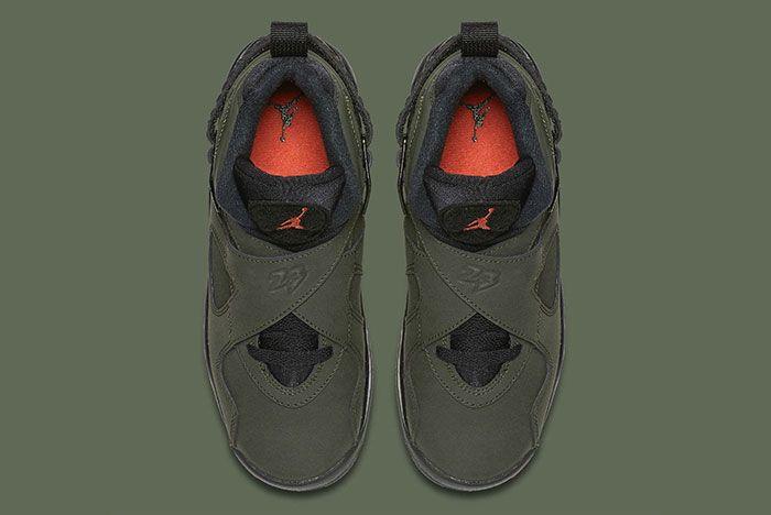 Air Jordan 8 Sequoia Green 3