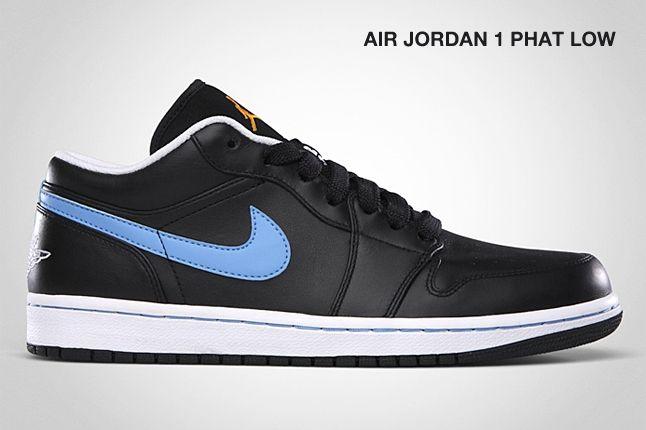Air Jordan 1 Phat Low Black Blue 1